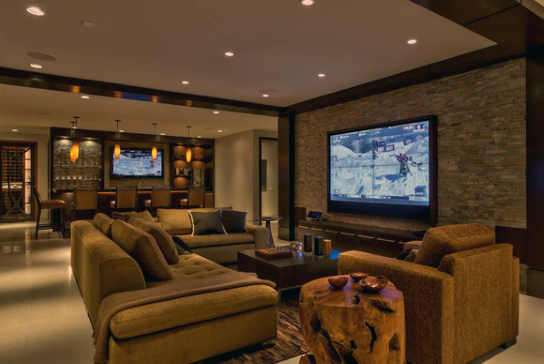 3 must have s for your basement man cave reconstruction - Man cave ideas for basement ...